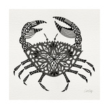 Crab in Grey Giclee Print by Cat Coquillette