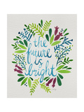 Future is Bright - Watercolor Lámina giclée por Cat Coquillette