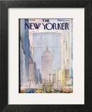 The New Yorker Cover - February 16, 1963 Art Print by Alan Dunn