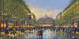 Paris Avenue de l'Opera - Detail Giclee Print by Guy Dessapt