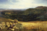 Harvest Time I Giclee Print by George Vicat Cole