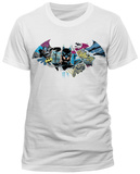 Batman- Batarang Action (Slim Fit) Shirt