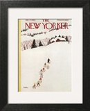 The New Yorker Cover - January 27, 1962 Art Print by Susanne Suba