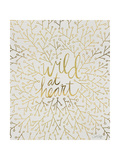 Wild at Heart - Gold Palette Lámina giclée por Cat Coquillette