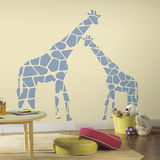 Mommy And Me Giraffe Peel And Stick Wall Decals Wall Decal