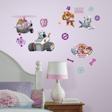 Paw Patrol Girl Pups Peel And Stick Wall Decals Wall Decal