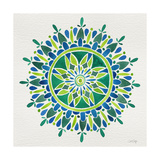 Mandala in Green Giclee Print by Cat Coquillette
