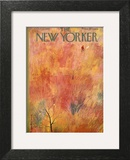 The New Yorker Cover - October 12, 1957 Wall Art by Roger Duvoisin