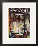The New Yorker Cover - February 5, 1996 Wall Art by Jean-Jacques Sempé