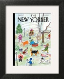 The New Yorker Cover - March 18, 2013 Wall Art by Maira Kalman
