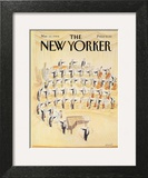 The New Yorker Cover - March 12, 1984 Wall Art by Jean-Jacques Sempé