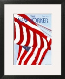 The New Yorker Cover - July 2, 1990 Art Print by Gretchen Dow Simpson
