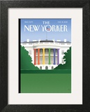 The New Yorker Cover - May 21, 2012 Wall Art by Bob Staake