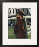 Vogue Cover - September 1945 - On the Town Print by Constantin Joffé