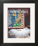The New Yorker Cover - November 24, 1997 Art Print by Jean-Jacques Sempé