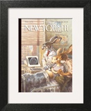 The New Yorker Cover - March 28, 2005 Art Print by Peter de Sève