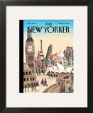 The New Yorker Cover - April 20, 2009 Art Print by Jacques de Loustal