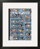 The New Yorker Cover - March 2, 2009 Print by Ivan Brunetti