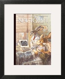 The New Yorker Cover - March 28, 2005 Wall Art by Peter de Sève