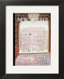 The New Yorker Cover - April 14, 2008 Art Print by Jean-Jacques Sempé