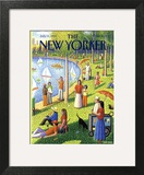 The New Yorker Cover - July 15, 1991 Art Print by Bob Knox