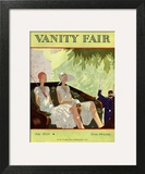 Vanity Fair Cover - July 1929 Wall Art by Jean Pagès