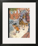 Beasts of Burden - The New Yorker Cover, September 13, 2010 Art Print by Peter de Sève