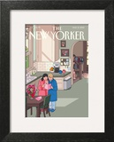 Mothers' Day - The New Yorker Cover, May 13, 2013 Wall Art by Chris Ware