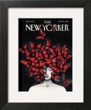 Homage - The New Yorker Cover, March 29, 2010 Poster by Ana Juan