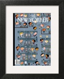 The New Yorker Cover - March 2, 2009 Prints by Ivan Brunetti