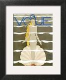 Vogue Cover - July 1931 - Venus Prints by Georges Lepape