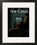 Moment of Joy - The New Yorker Cover, July 8, 2013 Art Print by Jack Hunter