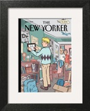 Boomerang Generation - The New Yorker Cover, May 24, 2010 Prints by Dan Clowes