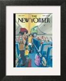 The New Yorker Cover - April 16, 2012 Art Print by Bruce McCall
