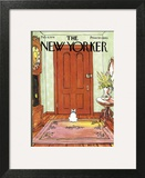 The New Yorker Cover - February 4, 1974 Art Print by George Booth