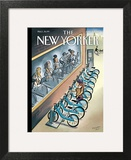 The New Yorker Cover - June 3, 2013 Wall Art by Marcellus Hall