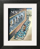 The New Yorker Cover - June 3, 2013 Art Print by Marcellus Hall