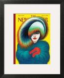 The New Yorker Cover - January 14, 2013 Art Print by Lorenzo Mattotti