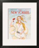 The New Yorker Cover - May 25, 1992 Art Print by Susan Davis