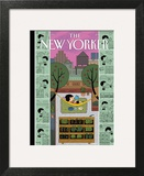 Urban Bliss - The New Yorker Cover, July 1, 2013 Print by Ivan Brunetti