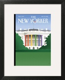The New Yorker Cover - May 21, 2012 Art Print by Bob Staake