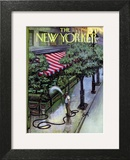 The New Yorker Cover - August 27, 1955 Wall Art by Arthur Getz