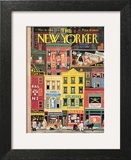 The New Yorker Cover - March 18, 1944 Poster by Witold Gordon