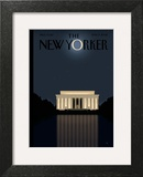 The New Yorker Cover - November 17, 2008 Art Print by Bob Staake