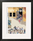 The New Yorker Cover - September 17, 2012 Art Print by Chris Ware