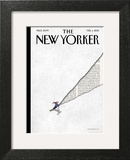 The New Yorker Cover - February 4, 2013 Wall Art by Birgit Schössow