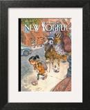 Beasts of Burden - The New Yorker Cover, September 13, 2010 Wall Art by Peter de Sève