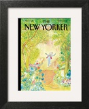The New Yorker Cover - May 19, 2008 Wall Art by Jean-Jacques Sempé