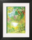 The New Yorker Cover - April 17, 2006 Art Print by Jean-Jacques Sempé
