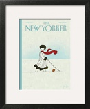 Whiteout - The New Yorker Cover, March 1, 2010 Art Print by Brian Stauffer